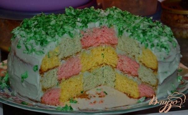 рецепты тортов праздничных из фото