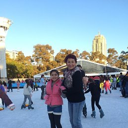 Sydney 2014г. На катке.