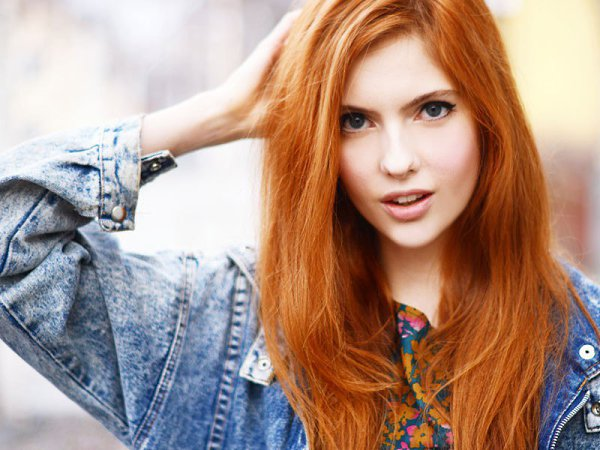 Рыжие девушки (23 фото) - Аля Сезер, 21 год, Москва