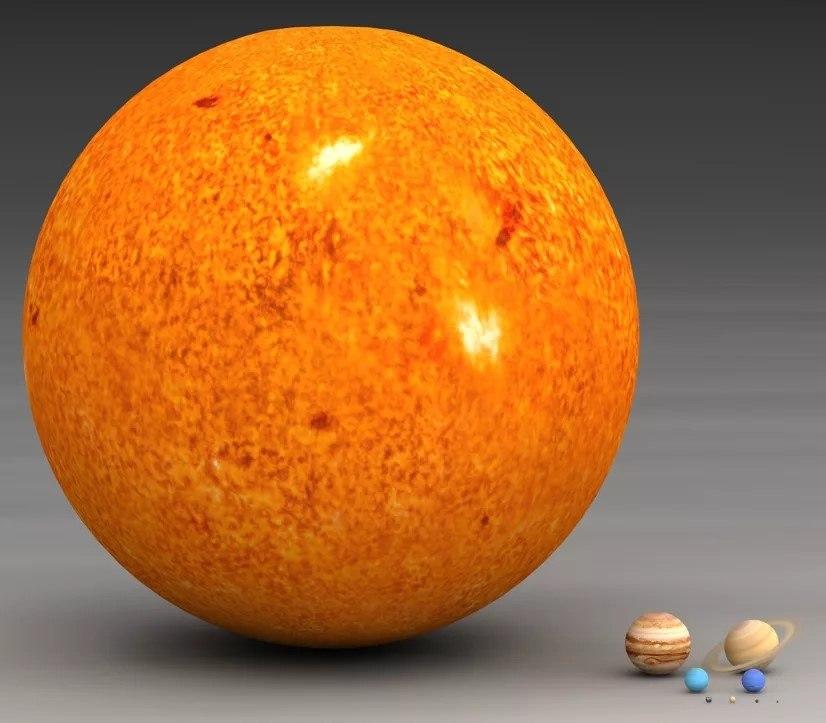 все самая большая планета солнечной системы фото вынуть духовки