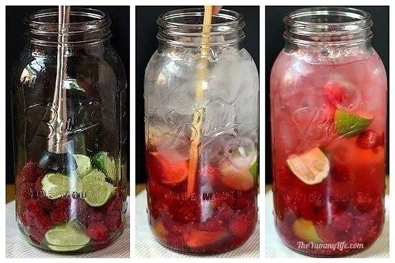 Рецепты приготовления полезной и вкусной воды из фруктов и трав.Соки, сладкая газировка, ... - 3